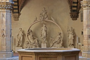 Grupo de esculturas en el patio del Museo Bargello. Foto de visitflorence.com.