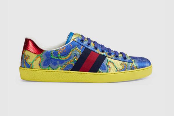 Llamativas pero elegantes: así son las zapatillas de Gucci.