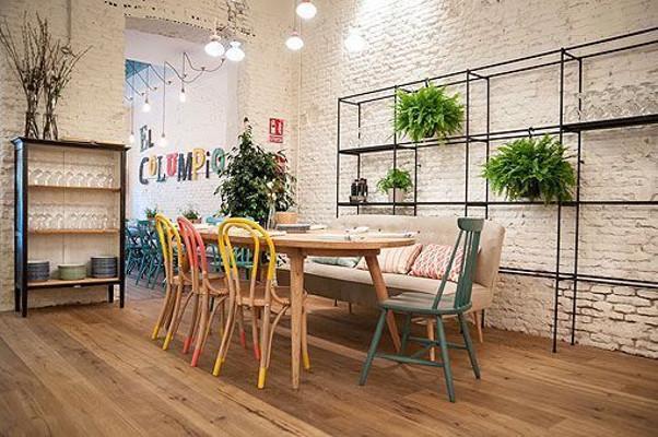 El Columoio, decorado y diseñado por Marta Banús. Imagen de su web.