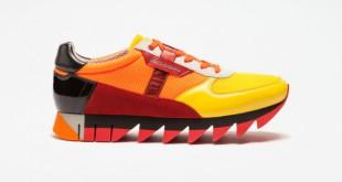 A todo color: así se llevan las zapatillas esta temporada.