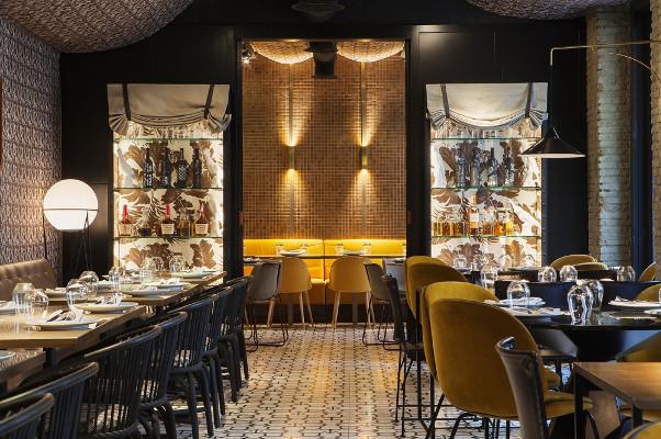 Random, de Madrid in Love, es un genial espacio para cenas con un toque canalla. Imagen de su web.