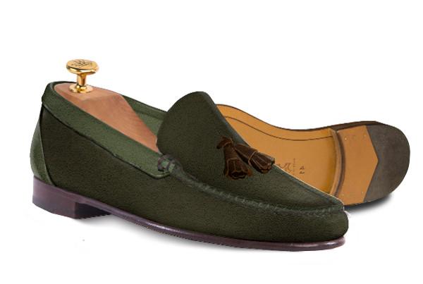 Unos elegantes zapatos de Wescott Shoemaker.