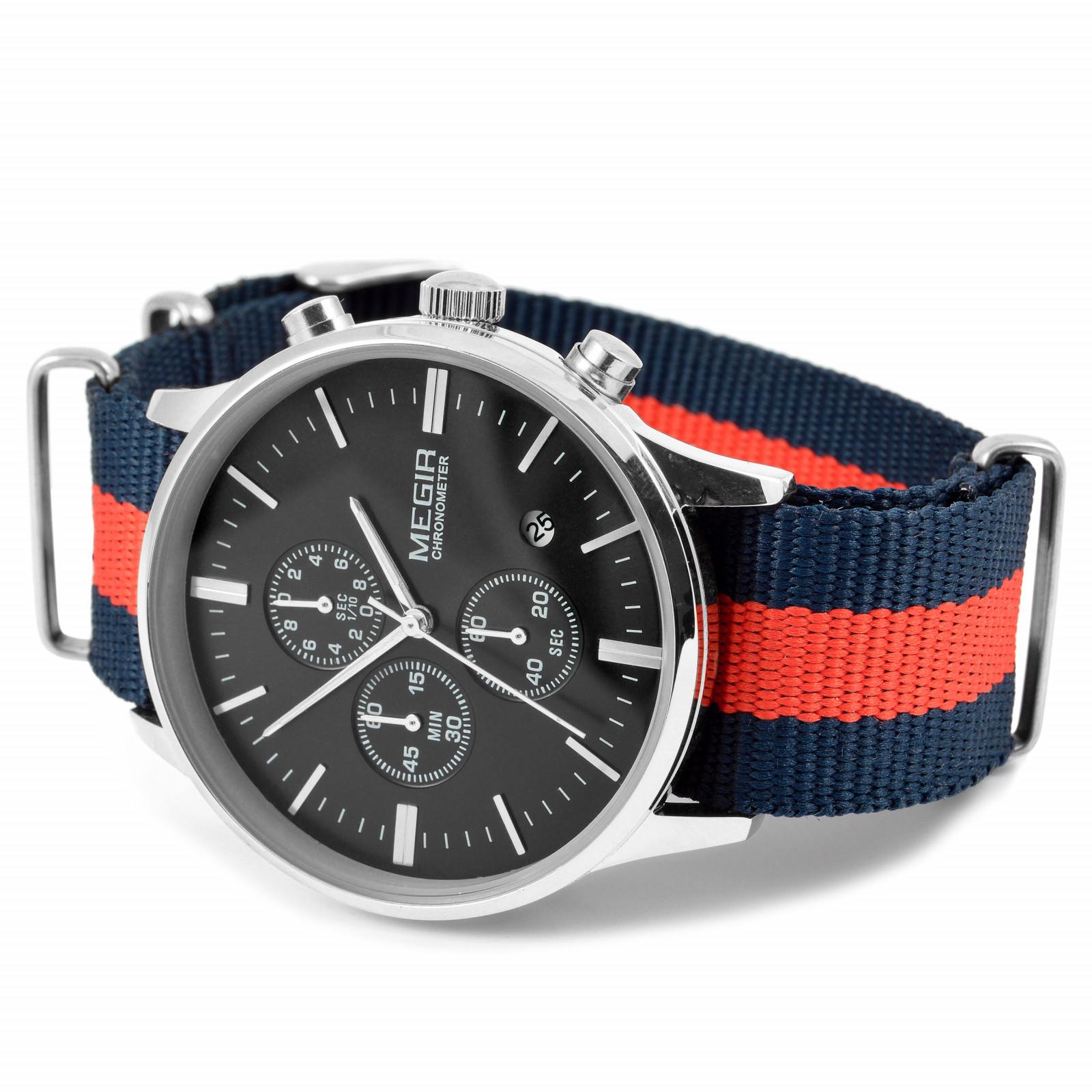 575bd2e5e reloj-correa-de tela-a-rayas | AIRCREW LIFESTYLE