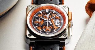 BR03-94 AeroGT Orange, una edición limitada a 500 piezas inspirada en el mundo del automovilismo de carreras.