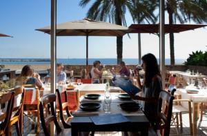 Cocina marinera en La Barceloneta. Restaurante Agua.