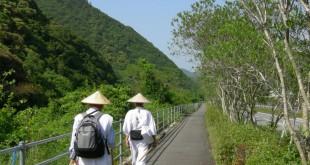 Peregrinos haciendo el camino. Foto: ©Yasufumi Nishi ©JNTO.