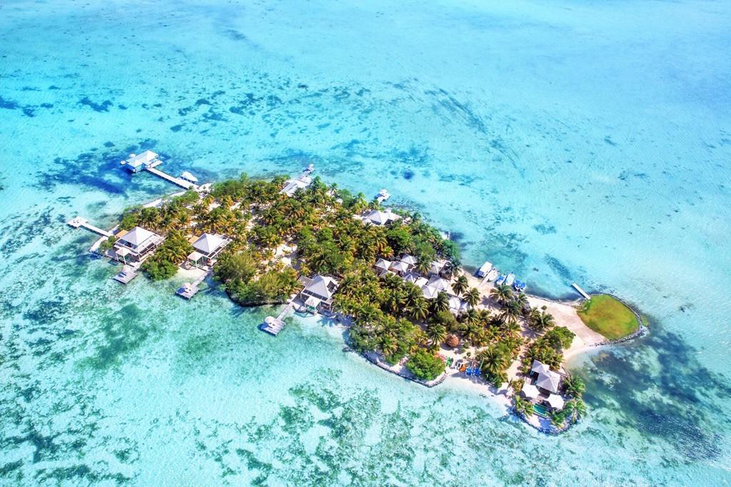 Cayo Espanto (Belice): una exclusiva isla con 7 villas y todos los servicios de un hotel de gran lujo.