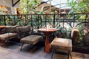 Detalle de uno de los espacios del restaurante Alcazar en París. Foto: facebook de Alcazar