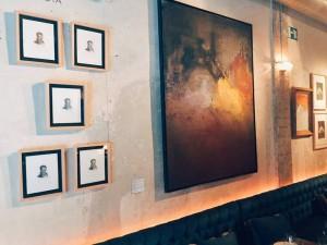 Exposición de Alejandro de Villota en Arts Club Madrid. Foto: facebook del restaurante