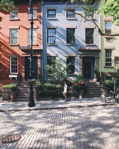 Paseando por Joralemon Street en el barrio de Brooklyn. Foto: @gmp3 (Instagram) para NYC The Oficial Guide