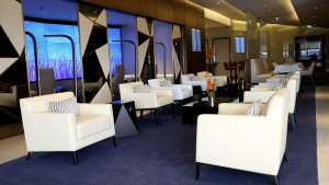 Una de las salas Premium del aeropuerto de Abu Dabi