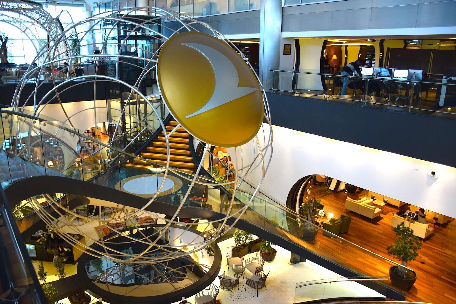 Istambul Lounge Panor Mica El Aeropuerto De Doha