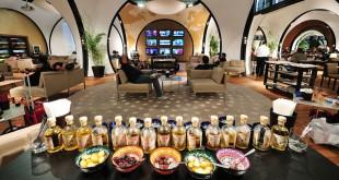 En el Business lounge de Turkish Airlines en Estambul el viajero puede experimentar una estimulante cata de sabores turcos.