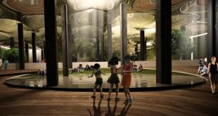Recreación del proyecto Lowline en Nueva York