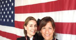 Patricia Pepperell, a la izquierda de la fotografía nos presenta la ciudad de Nueva York