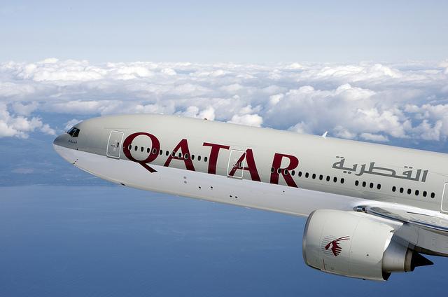 Qatar Airways B777-300
