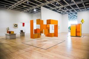 Obra del artista Hélio Oiticica en Whitney Museum of American Art. Foto: Matt Casarella