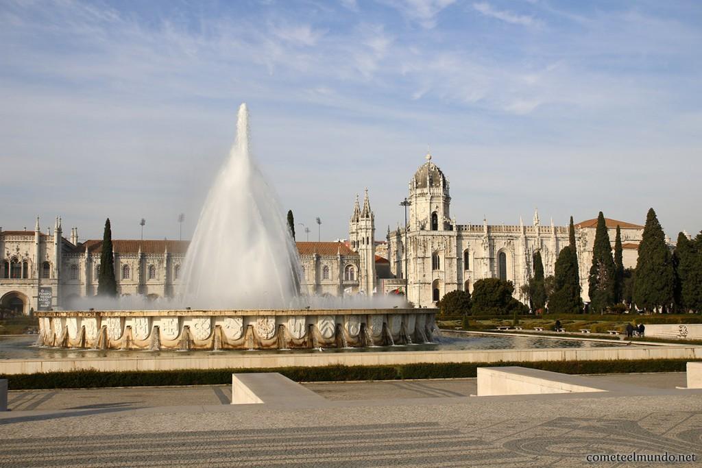 Panorámica del barrio de Belém de Lisboa