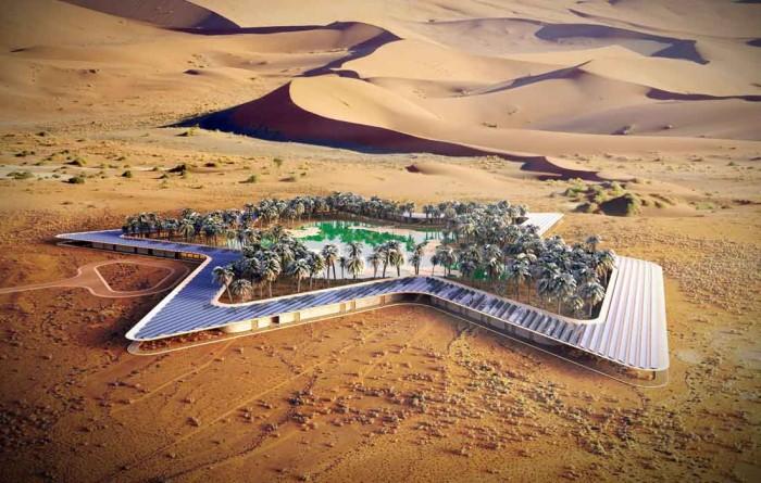 Su estructura en forma de estrella hará que todos los visitantes cuenten con las mismas visitas privilegiadas desde sus terrazas