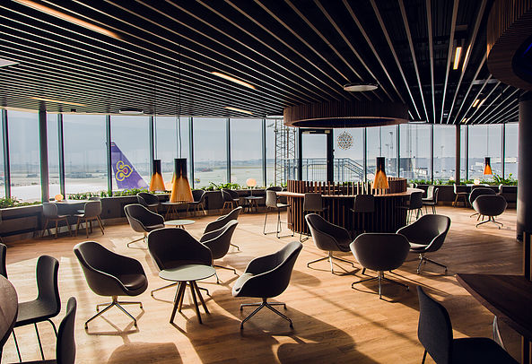 Business lounges relajantes