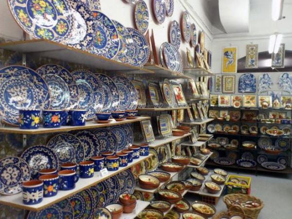 Algunos de los artículos que podemos encontrar en la tienda Loja dos Descobrimentos