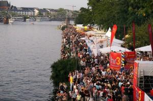 Panorámica Fiesta de los Museos. Foto: © Tourismus + Congress GmbH Frankfurt am Main