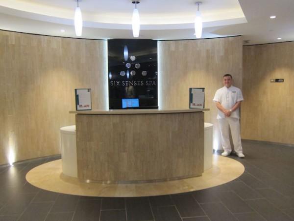 En la sala VIP de Etihad Airways podemos disfrutar de uno de las mejores masajes