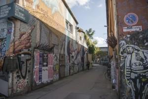 No hay calle que no esté marcada con el sello de los artistas locales. Foto: © Eduardo G. Cuasimodo