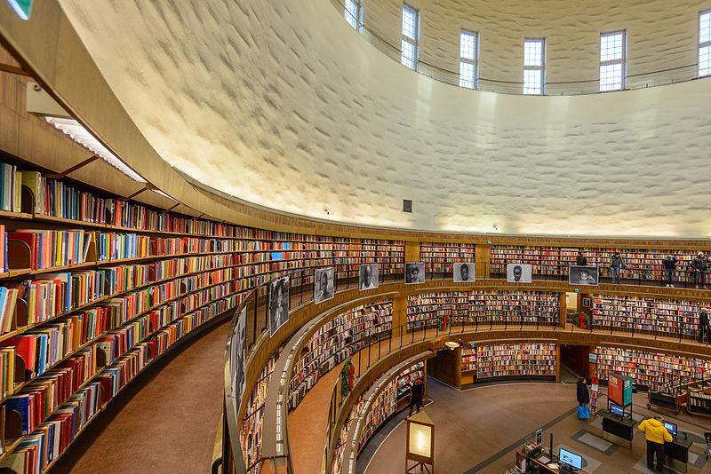 grandeza de biblioteca de Estocolmo