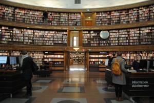La grandeza de la biblioteca cilíndrica