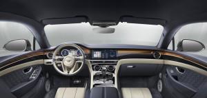El Bentley Continental GT está equipado a bordo con las últimas tecnologías y su interior está hecho completamente a mano
