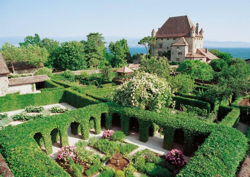 Yvoire es un pueblo que conserva la estructura medieval. ©visit-yvoire
