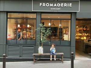 Fromagerie Goncourt es una de la nueva generación de queserías