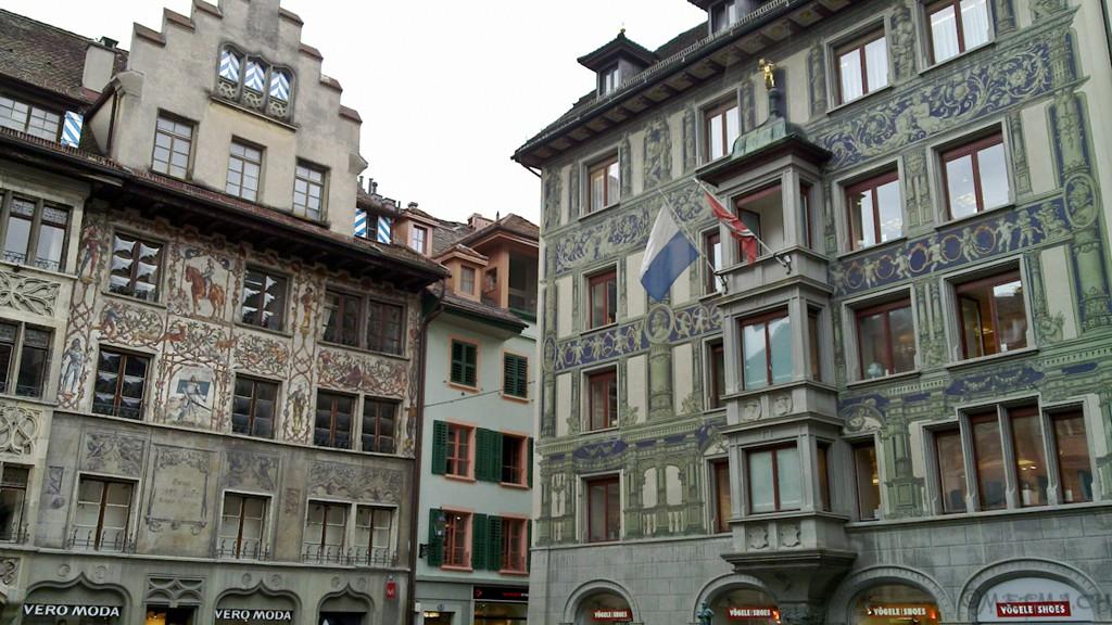 Hirschenplatz en Lucerna