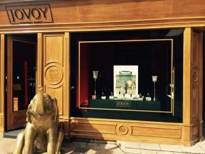 La tienda de Jovoy en la Rue de Castiglione