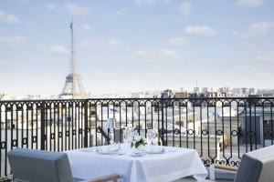 ¿Una cena en París con vistas? la terraza del Oiseau Blanc