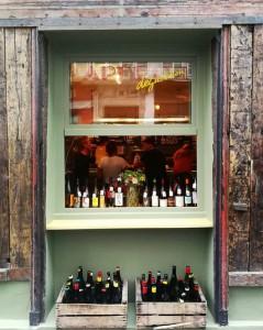 La Cave es el bar de vinos del restaurante Septime