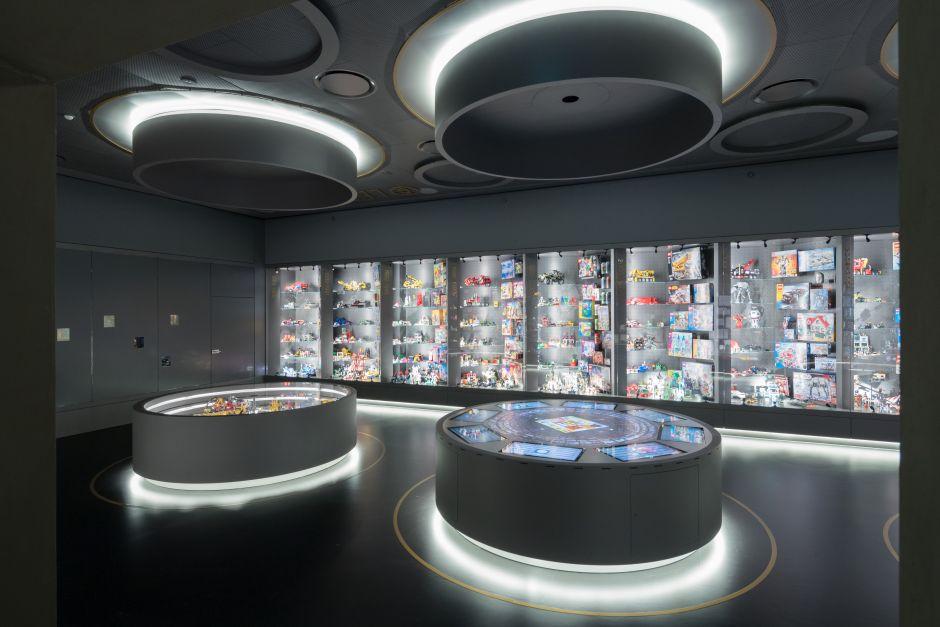 En la LEGO Vault se encierran las primeras ediciones de los juegos de la marca, un lugar para la nostalgia. Foto: Iwan Baan