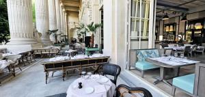 MiniPalais, la terraza más soberbia y elegante del Triángulo de Oro parisino