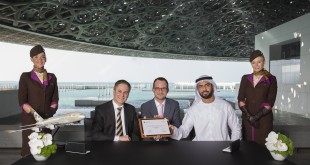 Etihad Airways patrocinador de Louvre Abu Dhabi
