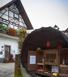 Puesto de una bodega de la Selva Negra en Baiersbronn
