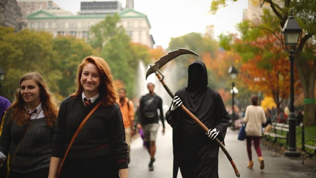 Halloween es casi un habitante más de NYC durante esos días de celebración
