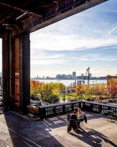 Otoño en el High Line de Nueva York. Foto: @igobyjulian