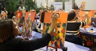 taller de pintura IberiaExpress_Madrid_Nantes