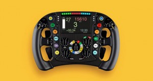 Los colores de los mandos den volante del F1 de Renault son capturados en las ediciones limaitadas BR-X1