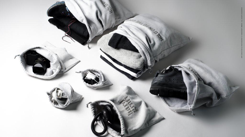Dentro de la maleta: todo ordenado y bajo control
