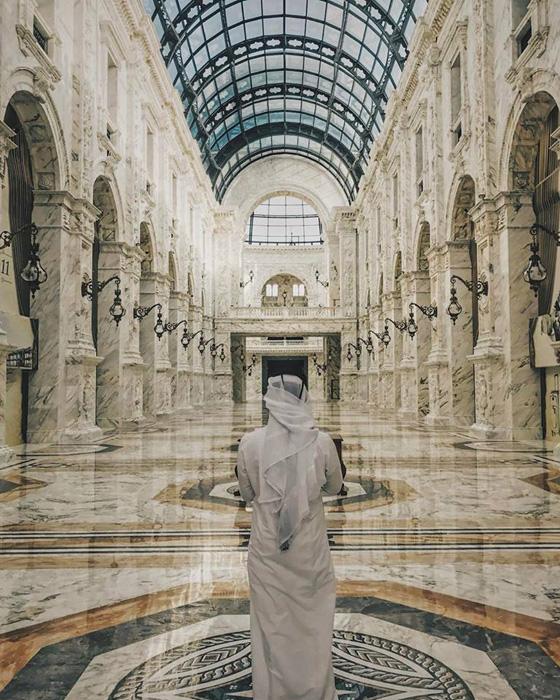 Mall ALHAZM, abierto esta pasada primavera. El complejo fue construido con más de 41.000 toneladas de mármol y piedra, enviadas a Qatar desde Jerusalén y la Toscana.