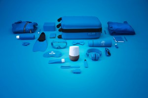 Blue Bot de KLM ayuda a hacer el equipaje_dic17
