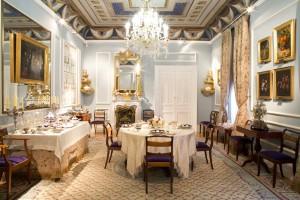 Comedor en Museo del Romanticismo (Edición 2016) . Foto: Javier Rodriguez