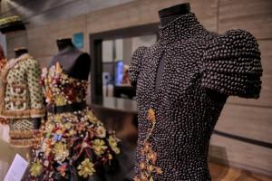 En Museo del Traje, Verduras de Moda (Edición 2017). Foto: Javier Peñas